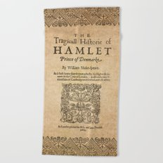 Shakespeare. Much adoe about nothing, 1600 Beach Towel