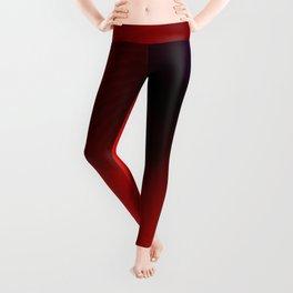 Red love Leggings