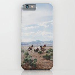 Running Horses iPhone Case