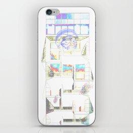 A Look Through The Display Window iPhone Skin
