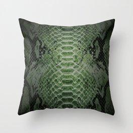 Animal print - Snake skin Throw Pillow