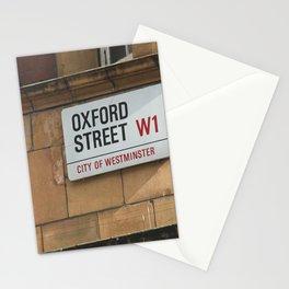 Oxford Street. Stationery Cards
