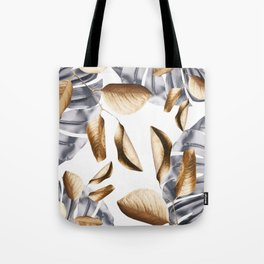 Metal botanic Tote Bag