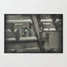 The Curious Case Of Mr Keyboard Canvas Print