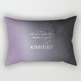 wander {violet Rectangular Pillow