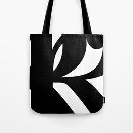 Hidden Letters. Baskerville R Tote Bag