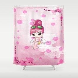 Chibi Morphine Shower Curtain