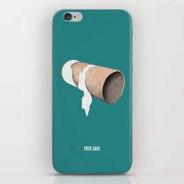 Toilet Peeve iPhone Skin