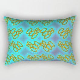 Oo - pattern 1 Rectangular Pillow