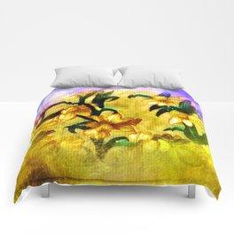 Spring Daffodils Comforters