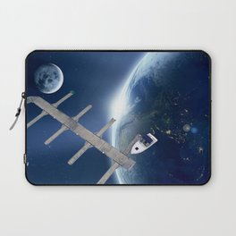 SPACE PORT Laptop Sleeve