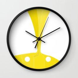 Silhouette Racers - Lamborghini Countach Wall Clock
