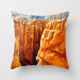 Bryce Canyon National Park Throw Pillow