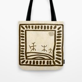 Ethnic 3 Canary Islands Tote Bag