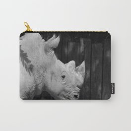Rhino Portrait Carry-All Pouch