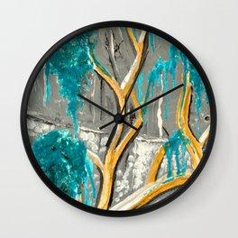 Resting Tree Wall Clock