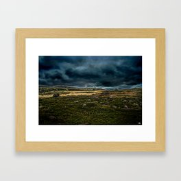 At the end of Earth - Cape Spears Framed Art Print