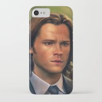 sam winchester iPhone & iPod Cases featuring Sam Winchester from Supernatural by Annike