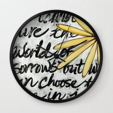 Live in Joy Wall Clock
