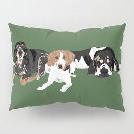 Three hounds Pillow Sham