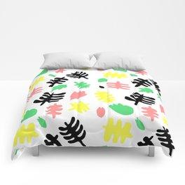 Paradise Tropic white Comforters