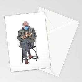 Bernie in Mittens Stationery Cards
