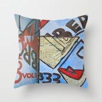 bauhaus Throw Pillows featuring Bauhaus.  by Ryan Williams Photography and Art. http: