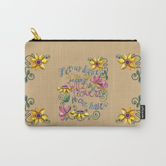 Let Us Dance III Carry-All Pouch