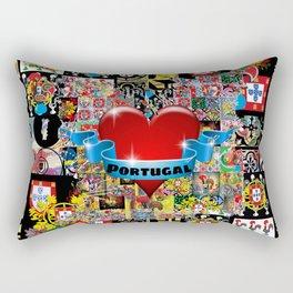 PORTUGUESE FOLK ART Rectangular Pillow