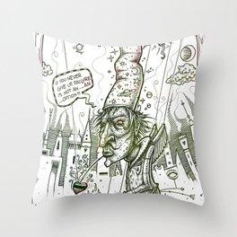 El brujo Throw Pillow
