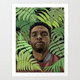 Chadwick Boseman Art Print
