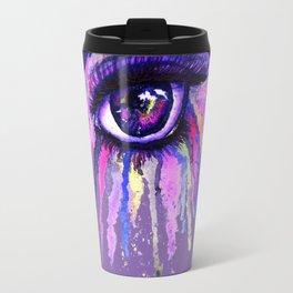 Rainbow anime eye Travel Mug