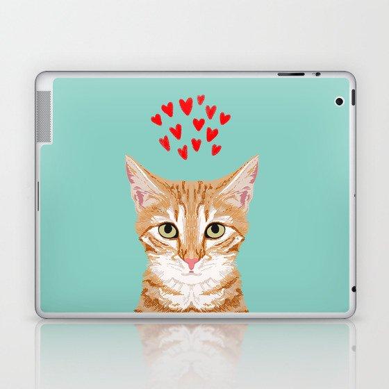 Mackenzie Orange Tabby Cute Valentines Day Kitten Girly Retro Cat