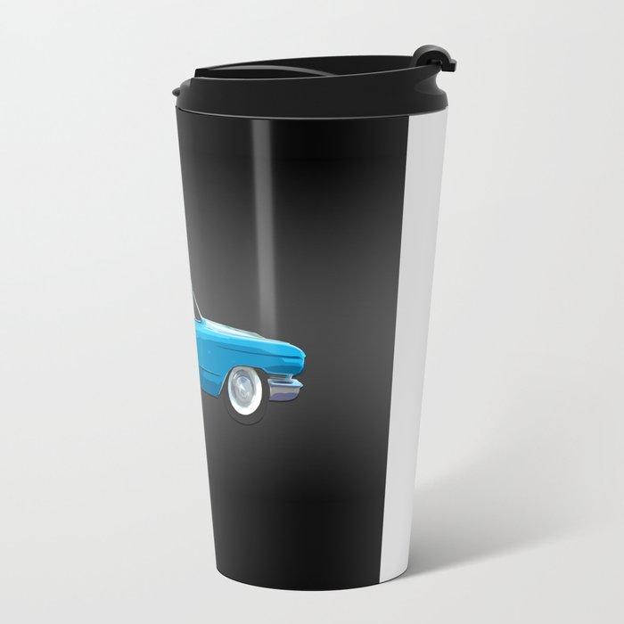 1960 Cadillac Coupe De Ville Travel Mug