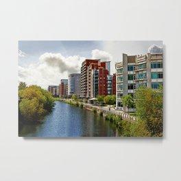 River Aire Leeds Metal Print