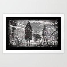 #ERROR57.03 Art Print