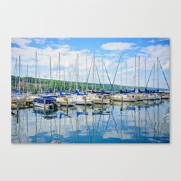 Glen Harbour Marina Canvas Print