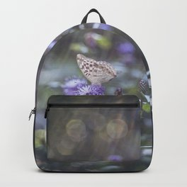 Sunrays  over the butterfly Backpack