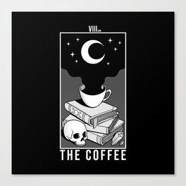 The Coffee Canvas Print