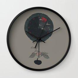 Night Falls Wall Clock