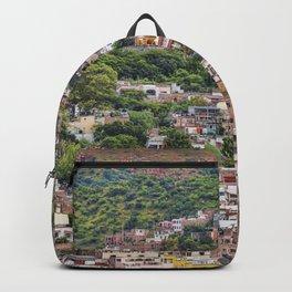 Hilltop Houses Guanajuato Backpack