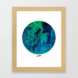 Greenedge Colours Framed Art Print