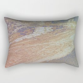 yellow stone Rectangular Pillow
