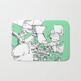 Mint Chocolate Bath Mat