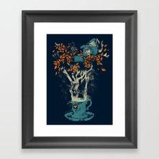 Tea House Framed Art Print