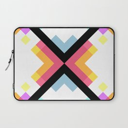 Abstract Retro Pattern 05 Laptop Sleeve