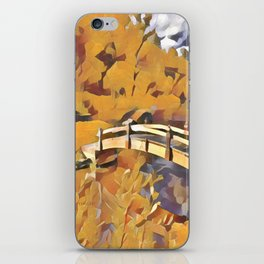 Dreamland Gold iPhone Skin