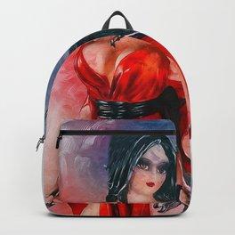 Samurai Woman Backpack