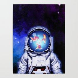 Cosmic Fishbowl Poster