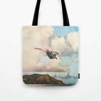 fall Tote Bags featuring Fall by Sarah Eisenlohr
